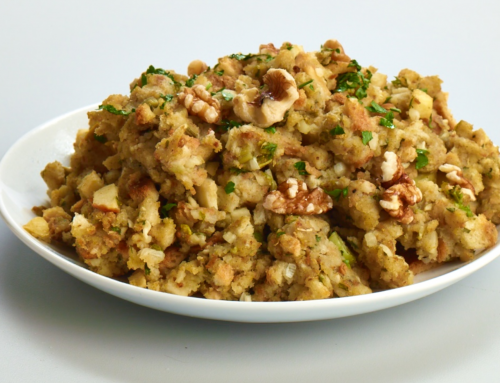 Nutty herb stuffing